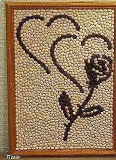 Haz lindos cuadros decorativos para tu hogar usando semillas lodijoella