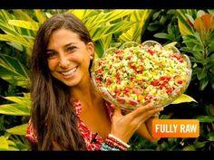 The FullyRaw Holiday Salad!