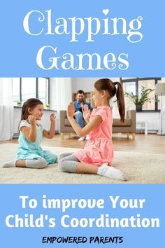 These hand-clapping games for kids in preschool and kindergarten are fun and educational. Start with easier songs and games and move to the challenging games as your child's coordination improves. games for kids ideas Home Games For Kids, Games For Toddlers, Fun Activities For Kids, Infant Activities, Preschool Activities, Motor Activities, Toddler Games, Elderly Activities, Dementia Activities