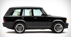Range Rover Chieftain Is A Classic Reborn With A Cadillac CTS-V Supercharged V8 #Classics #Land_Rover