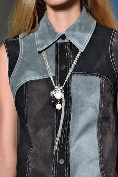10 Accessory Trends Worth The Waitlists #refinery29  http://www.refinery29.com/best-fashion-week-accessories-trends#slide9  Derek Lam