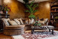 Marge Carson Sectional - Linly Designs