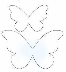 Resultado de imagen para moldes de mariposas de papel