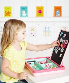 Magnetic Playcentre - Pink - educational toys - Mothercare