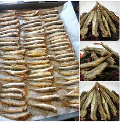 Sardellen in der Ölpaste ! Greek Recipes, Desert Recipes, Fish Recipes, Seafood Recipes, Appetizer Recipes, Greek Dishes, Fish Dishes, Seafood Dishes, Food Network Recipes