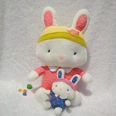 Hot Sale Plush Doll Spot Rabbit Doll Birthday Gift BCB2g-Toy  $15.00
