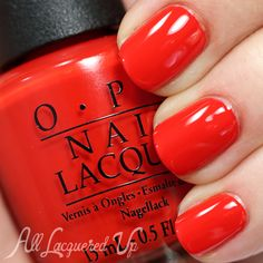 OPI Mustang Collection Swatches and Review