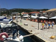 """See 134 photos and 8 tips from 1136 visitors to Marina of Sivota. """"Clean, picturesque Greek harbour with plenty of shops, restaurants and bars nearby. Four Square, Greece, Patio, Explore, Places, Outdoor Decor, Traveling, Greece Country, Lugares"""