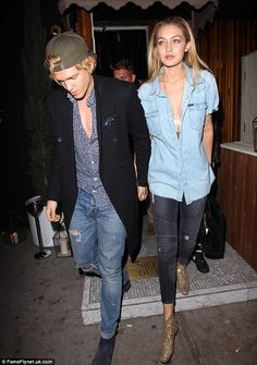 Joined at the hip! Since returning home to Los Angeles from her New York base, model Gigi Hadid has been glued to her on-again-off-again boyfriend Cody Simpson, who were spotted out again on Wednesday night