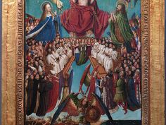 Jan van Eyck and Workshop Assistant: The Crucifixion; The Last Judgment (33.92ab) | Heilbrunn Timeline of Art History | The Metropolitan Museum of Art
