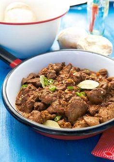 Piri-piri chicken livers