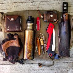 This is the bushcraft kit I'll be packing for Hawaii. It's a family vacation but…