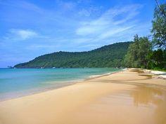 Lazy beach, Cambodia