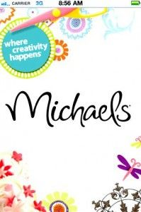 FREE Michaels iPhone and Droid App! Show the coupons on your phone- no more paper!
