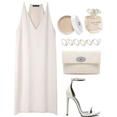 Untitled #967 by susannem on Polyvore featuring moda, The Row, Yves Saint Laurent, Mulberry, H&M and Elie Saab
