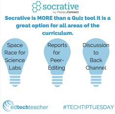 Socrative can be more than a quiz tool. Check out these ideas from Beth Holland