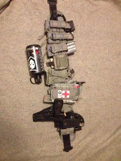 HSGI sure grip battle belt loadout