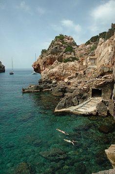 Cala Deià ~ Mallorca Island, Spain