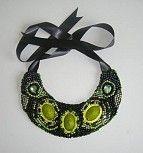 Colier realizat manual Crochet Necklace, Handmade, Vintage, Jewelry, Hand Made, Jewlery, Jewerly, Schmuck, Jewels