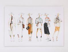 Fashion Student Portfolio - Elan Byrd