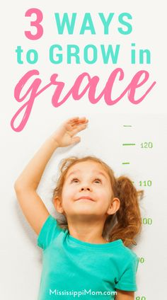 Do you ever feel like yuo should be farther along on your walk of faith? 3 Ways to Grow in Grace - Encouraging Word Wednesday Christian Women, Christian Living, Christian Faith, Christian Quotes, Christian Encouragement, Words Of Encouragement, Grow In Grace, Proverbs 31 Woman, Love Your Family