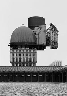 Archisculpture: Surreal Collages of Buildings by Beomsik Won   Yatzer