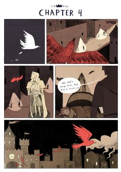 Nimona chapter 4 - page 1 | Gingerhaze