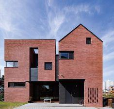 minimalist architecture for sale Perspective Architecture, Brick Architecture, Minimalist Architecture, Minimalist Interior, Minimalist Bedroom, Interior Architecture, Facade Design, Exterior Design, House Design