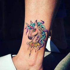 #tattoo #tatuagem #unicorn
