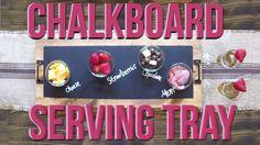 Chalkboard Serving Tray | Shanty2Chic
