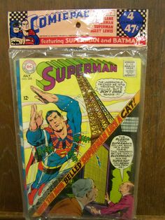 DC  COMIC PAC NO. A-7: SUPERMAN