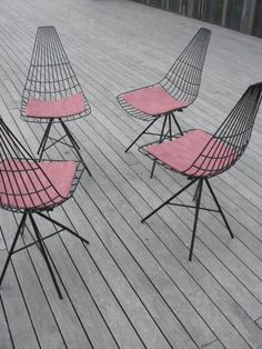 1950's Clement Meadmore chairs