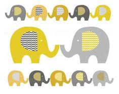 Elefanten clip-Kunst Baby-Elefant-Clipart Pastell Washi von huetoo                                                                                                                                                                                 More