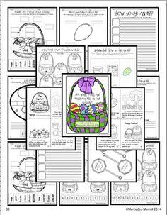 ALL YOUR MATH AND LITERACY EGGS IN ONE BASKET! - TeachersPayTeachers.com