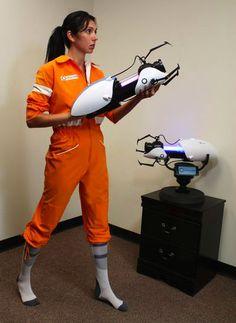 ThinkGeek :: Portal 2 Chell Jumpsuit