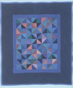 Amish quilt, great use of color value