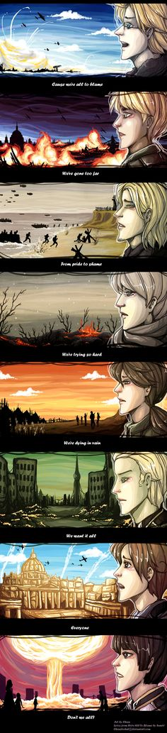 APH: All To Blame by ChessLeChat.deviantart.com on @deviantART