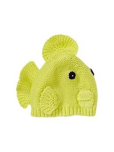 Haha so cute for a winter baby. gender neutral. Parrotfish hat | Gap $19