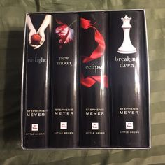 Twilight Collector Series Hardback books by Stephenie Meyers Other