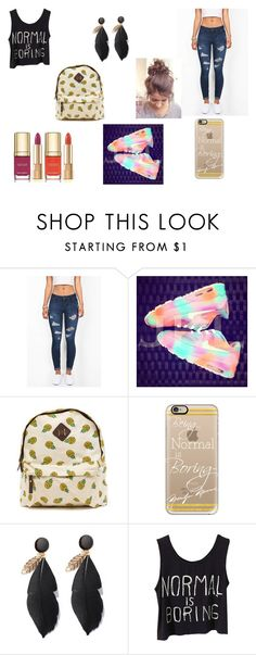 """""""why be normal when you can be awesome"""" by kaylia-ashley ❤ liked on Polyvore featuring Casetify and Dolce&Gabbana"""