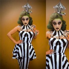 Michelinepitt I Lent My Soon To Be Re Stocked At Glamour Ghoul Deadly Dames  Dress To My Darling For Her Demo For I Love The Custom Headpiece And Nails  She ...