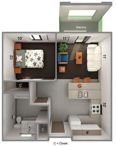 52 Ideas Living Room Decor Apartment Small Floor Plans For 2019