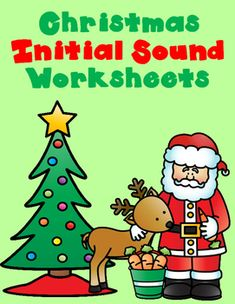 Our students love to work on Christmas themed activities. What better way to get your kiddos to learn and master initial sound? My Christmas beginning sound worksheets are fun, engaging, hands on, educational and a great way to keep your students learning during the holiday season.