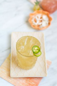 Spicy Guava Cadillac Margarita Cocktail | http://saltandwind.com
