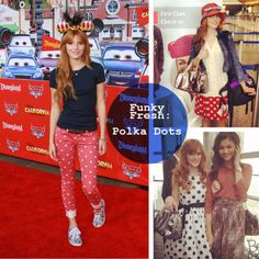 Bella Thorne Polka Dots