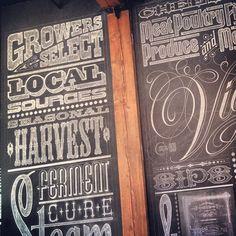 #wallart #chalkboard #typography