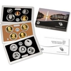 U.S. Mint 2015 Silver Proof Coin Set