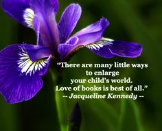 """""""There are many little ways to enlarge your child's world.  Love of books is best of all.""""  -- Jacqueline Kennedy -- Reading for fun continues to compete with other activities, so to support learning's strong reading literacy, it's important to build a meaningful, modern reading environment. Learn more at http://www.examiner.com/article/how-to-build-an-empowered-reading-environment"""