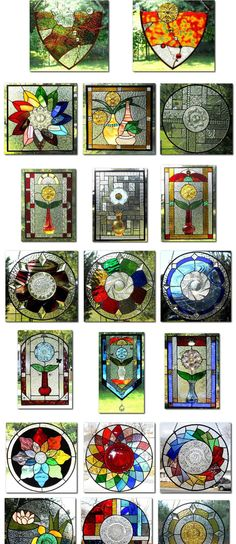 ❣Julianne McPeters❣ no pin limits Stained Glass Designs, Stained Glass Panels, Stained Glass Projects, Stained Glass Patterns, Mosaic Patterns, Stained Glass Art, Mosaic Glass, Fused Glass, Mandala