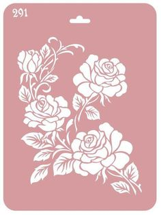 Schablone As Effectively As A Fairy Does Roses Cake Stencil Decoupage Airbrushin Stencil